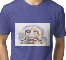 Little Werewolf Oven Tri-blend T-Shirt