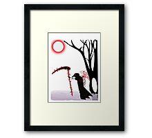 Crow Reaper Framed Print