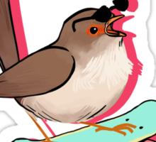 Rad Bird Sticker