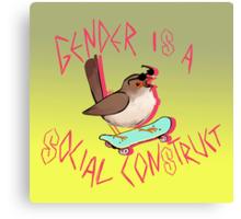 Rad Bird Canvas Print