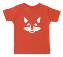 Cute Minimalist Fox Kids Tee