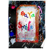 sara smile Poster