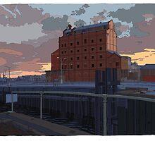 Harts Mill Dawn by David  Kennett