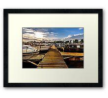 Shardlow Marina Framed Print