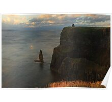 Moher Sea Stack Poster