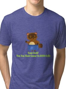 Sell your Soul to Tom Nook Tri-blend T-Shirt