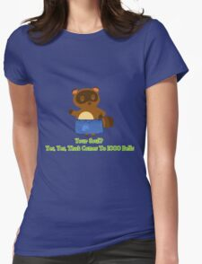 Sell your Soul to Tom Nook Womens Fitted T-Shirt