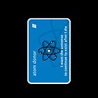 atom donor card [iPhone] by jefph