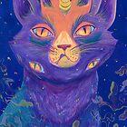 Galactic Kitties: Topaz by Seahorse Carousel