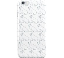 French Bull Dogs White iPhone Case/Skin