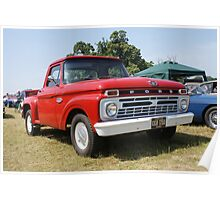 Ford F100 Truck Poster