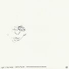 (Night) & Nap Drawings 26 - A little little Man - Eyes closed - 1st August 2013 by Pascale Baud