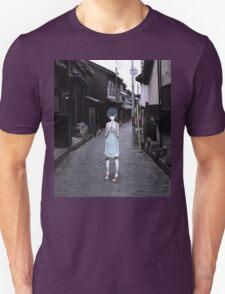 mini Rei in Tokyo Unisex T-Shirt