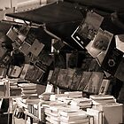 Bookselling along the Seine River by TheSmileEffect