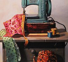 Singer Sewing Machine by michellewd