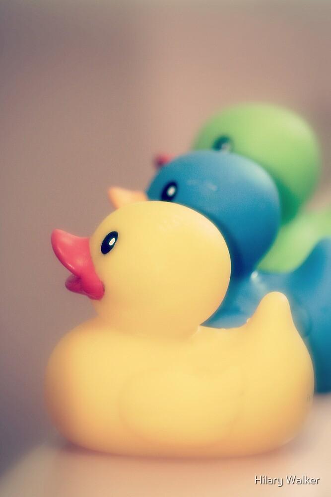 Ducks in a Row by Hilary Walker