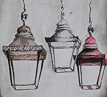 Hanging Lanterns by abbylow