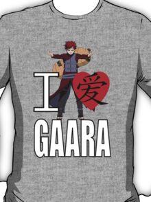 I Love Gaara T-Shirt