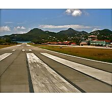 Cleared for Takeoff @ St Barths Photographic Print