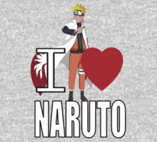 I Love Naruto Kids Clothes