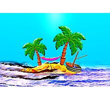 Missing Yachtsman Found Crossing the Caribbean Sea Photographic Print