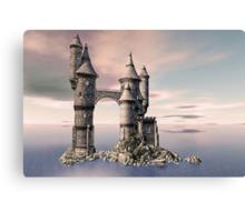 Fantasy Castle on The Sea Canvas Print
