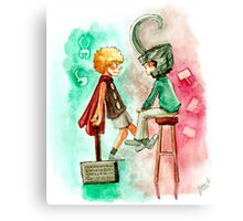 Little Asgard Canvas Print