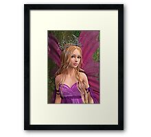 Pink Fairy Framed Print