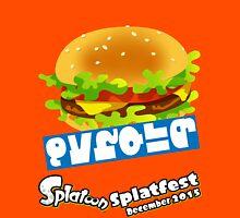 Splatfest Team Burger v.3 Unisex T-Shirt