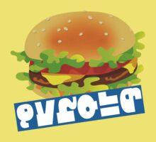Splatfest Team Burger v.4 Baby Tee