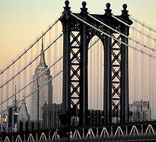 Manhattan Bridge by Robert Case