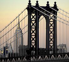 Manhattan Bridge by Robert Case