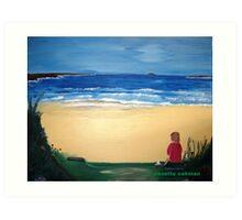 Patience - Acrylic Painting Art Print