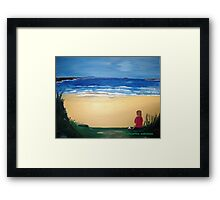 Patience - Acrylic Painting Framed Print