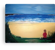 Patience - Acrylic Painting Canvas Print
