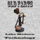 Old Farts like Modern Technology by David J Knight