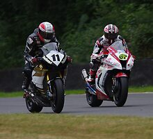 "#11 Michael Rutter and #67 Shane ""Shakey"" Byrne - Former and Present BSB Champions - BSB 2013 Brands Hatch by motapics"