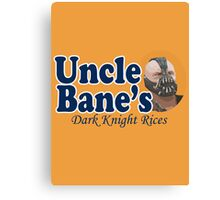 Uncle Bane's  Canvas Print