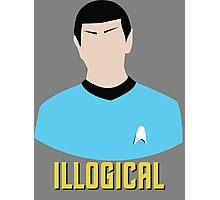 Illogical Spock Star Trek Portrait Photographic Print