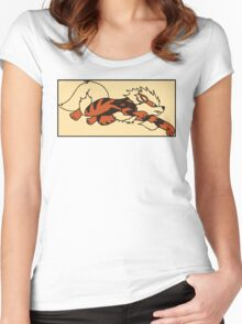 Boxed Arcanine Women's Fitted Scoop T-Shirt