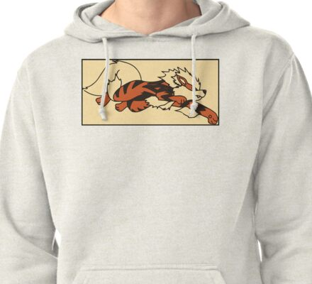 Boxed Arcanine Pullover Hoodie
