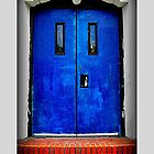 blue door by jyotiranjan mishra