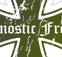 Hardcore Retro Punk Restyling   Sticker