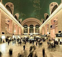 Grand Central Terminal GCT by Randy  Le'Moine