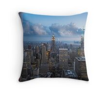 Storms and Sunsets Throw Pillow