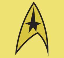 Star Trek TOS Command Uniform Tee by Alex Mathews
