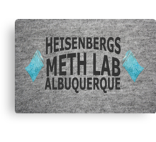Heisenbergs Meth Lab Canvas Print