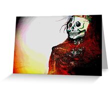 When I Die Greeting Card