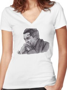George Bailey Women's Fitted V-Neck T-Shirt