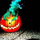 Smoke Bomb Pumpkin - Green by Hallowaltz